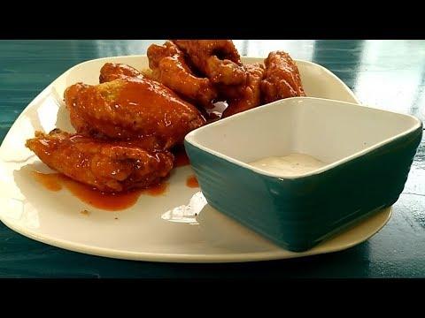 Homemade Buffalo Chicken wings Recipe by Fatma's Kitchen