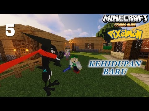 (5) Shiny Greninja dan Kehidupan Baru Dimulai - Minecraft Comes Alive Pixelmon