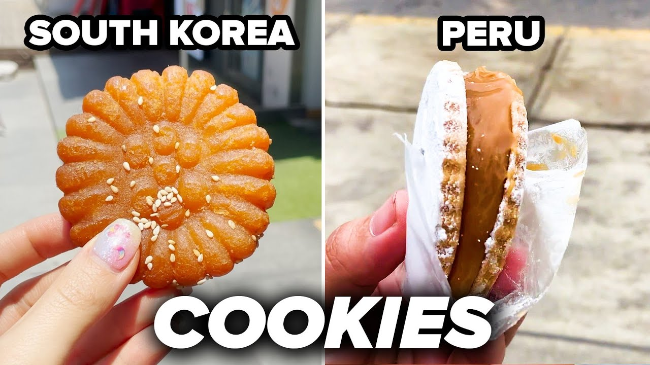 Eating Iconic Cookies Around The World