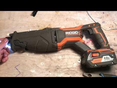 Ridgid Gen5 Reciprocating Saw Broken Off Blade Removal