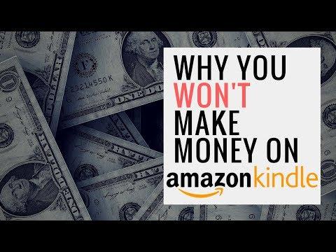 Why You Won't Make Money Selling Books On Amazon (Kindle)