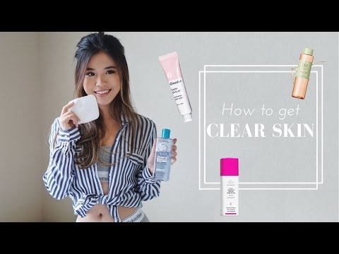 Skincare Routine For Combination Acne-Prone Skin (Bahasa Subs)