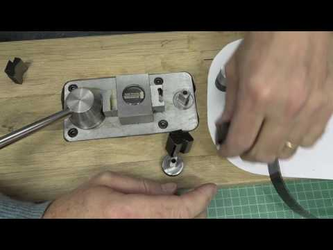 Making a Steel Rule Clicker Die with basic tools