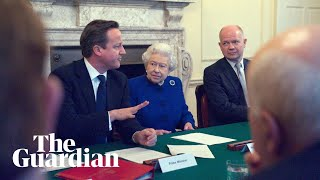 David Cameron asked Queen to 'raise eyebrow' during Scottish independence referendum