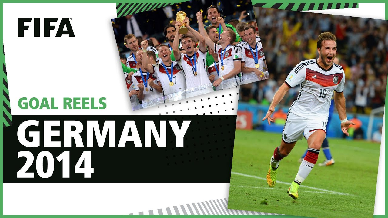 🇩🇪 All of Germany's 2014 World Cup Goals   Gotze, Klose, Muller & more!
