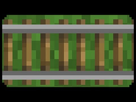 ✔ Minecraft: How to make a Railway Trap