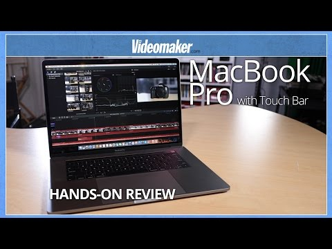 Apple MacBook Pro with Touch Bar - Hands-on Review - Video Editing Comparison