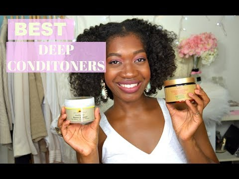 Best Deep Conditioners for Dry Natural Hair | How To Moisturize Dry Natural Hair | Holy Grail