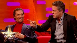 Matthew McConaughey, Hugh Grant & Jennifer Hudson On Cats V Dogs | The Graham Norton Show
