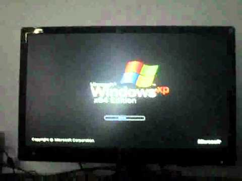 Windows XP Stuck at Loading Screen