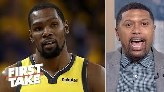 KD prioritizing free agency over the Finals would start an 'avalanche' - Jalen Rose | First Take