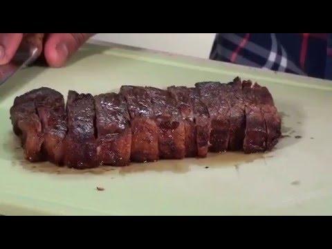 JV & The New York Strip Steak!
