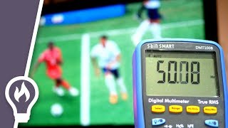 Detecting World Cup goals with electricity - The TV Pick-up effect