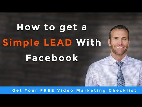 Facebook Video Advertising How We Generated A Simple Lead In A Few Hours.