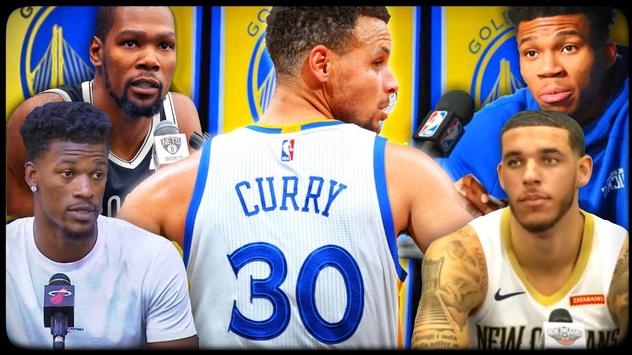 What NBA players think of Stephen Curry