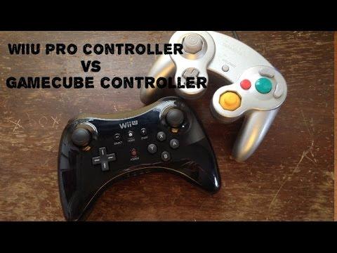 WiiU pro controller vs GameCube controller