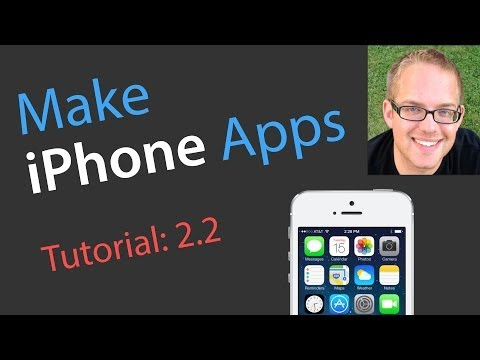 iOS 101: 2.2 Tutorial - Xcode 101 - Make Your First iPhone App in Xcode for iPhone iOS 7