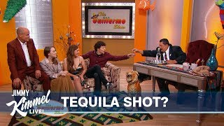 The Guillermo Show with Zombieland Cast