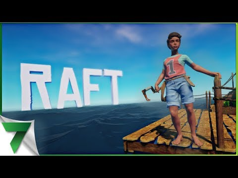 JUMPING OFF THE RAFT! Ep.1   RAFT GAMEPLAY