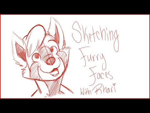 Tutorial Tuesday: Sketching Furry Faces