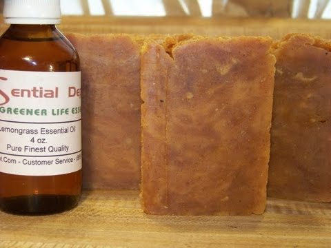How to Make Lye Soap, Essential Oil, Acne Blend for Oily Skin