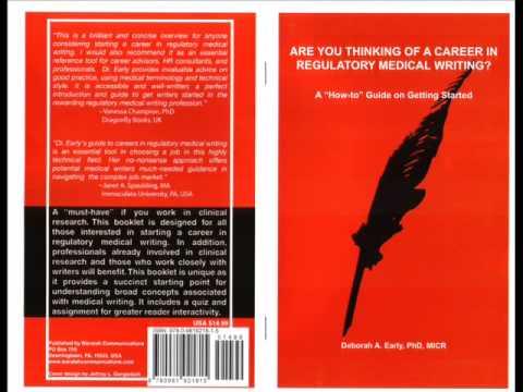 Career in Regulatory Medical Writing
