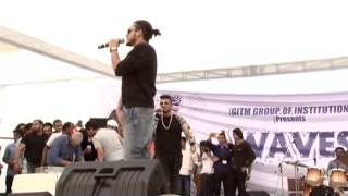 Live Performance of Raftaar @ GITM, Gurgaon