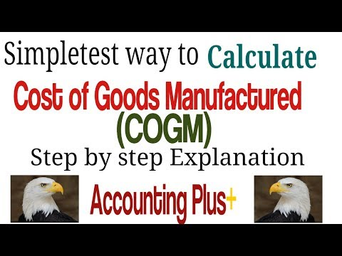 Cost of Goods Manufactured (COGM) - How to Calculate COGM