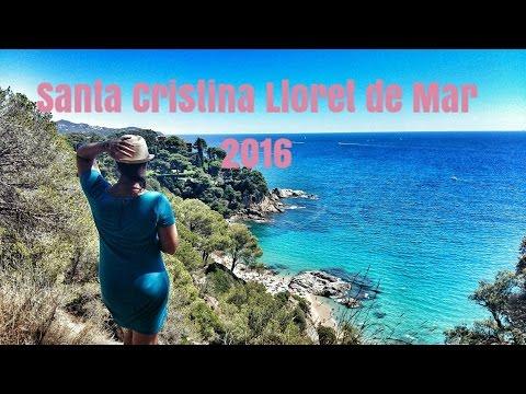 Santa Cristina Beach Lloret de Mar Spain 2016