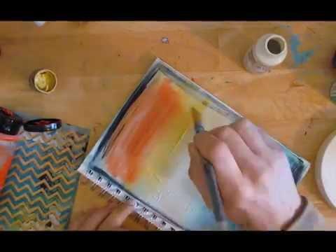 Artful Inspiration: Journal art in motion