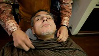NEW Japanese Barber Shave.