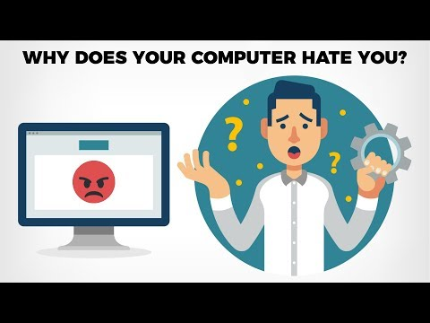 10 Reasons Why Your Computer Hates You!