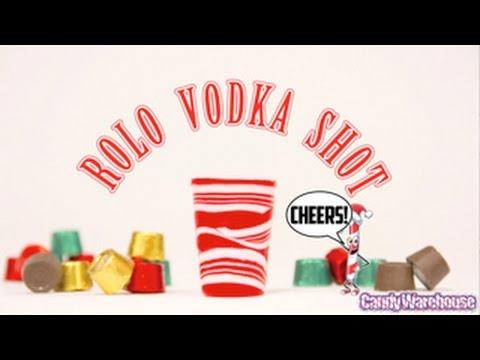 CANDY VODKA | Chocolate Rolo Vodka Shot Tutorial