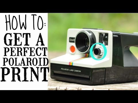 Polaroid Exposure Control, Explained!