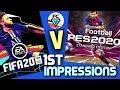 FIFA 20 V PES 2020 1ST IMPRESSIONS