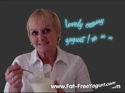 Make Really EASY FAT-FREE YOGURT