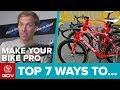 7 Ways To Make Your Bike More Pro | Maintenance Monday