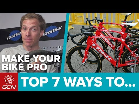 7 Ways To Make Your Bike More Pro | Maintenance Monday
