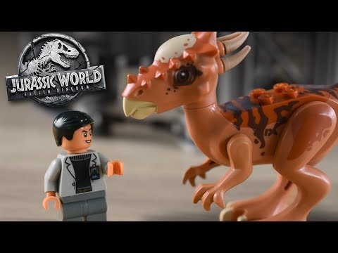 Stygimoloch Breakout Set! Jurassic World 2 Lego Set - Review/Build