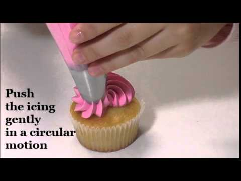 How To Pipe The Perfect Swirl - The Perfect Cupcake Decorating Kit