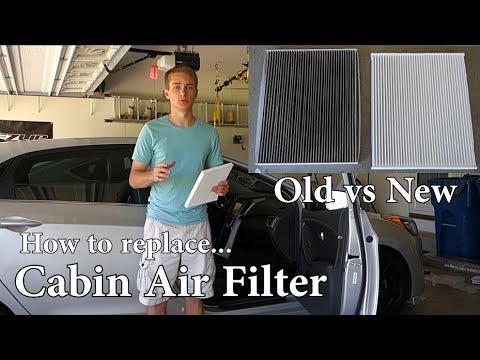 How to: Replace the cabin air filter | 2013 Hyundai Elantra GT