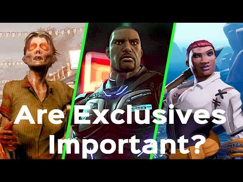 Are Console Exclusives For Xbox THAT Important?