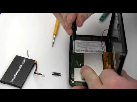 How to Replace Your Garmin Nuvi 465LMT Battery