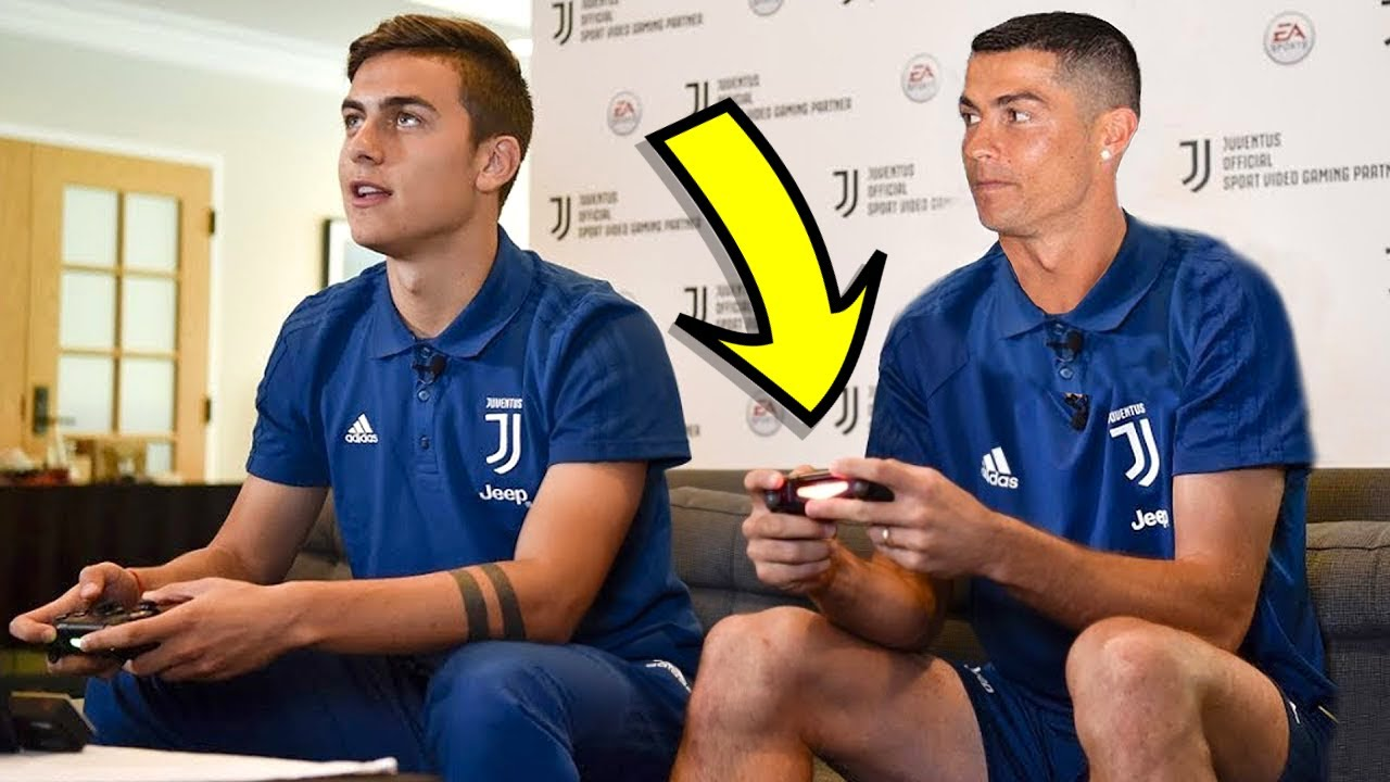 Famous Footballers Playing FIFA!