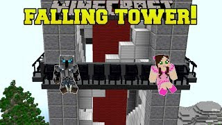 Minecraft: FALLING TOWER RIDE!!! - HERO FAIR [4]