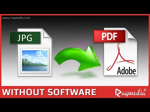 How to Convert Image to PDF File without Software