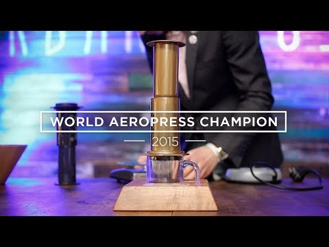 How To Make AEROPRESS Coffee – The Winning Recipe (WAC 2015)