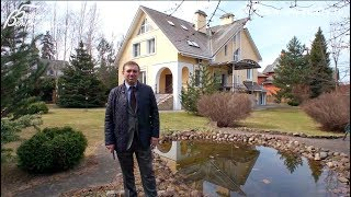 Презентация меблированного дома с бассейном и 6 спальнями в Голицыно| Минское шоссе