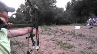 50yrd compound shot with parker bow