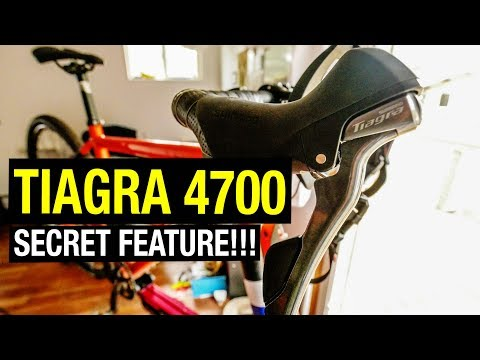Tiagra 4700 Review and it's SECRET Feature!